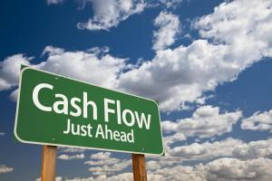 cash-flow-green-road-sign