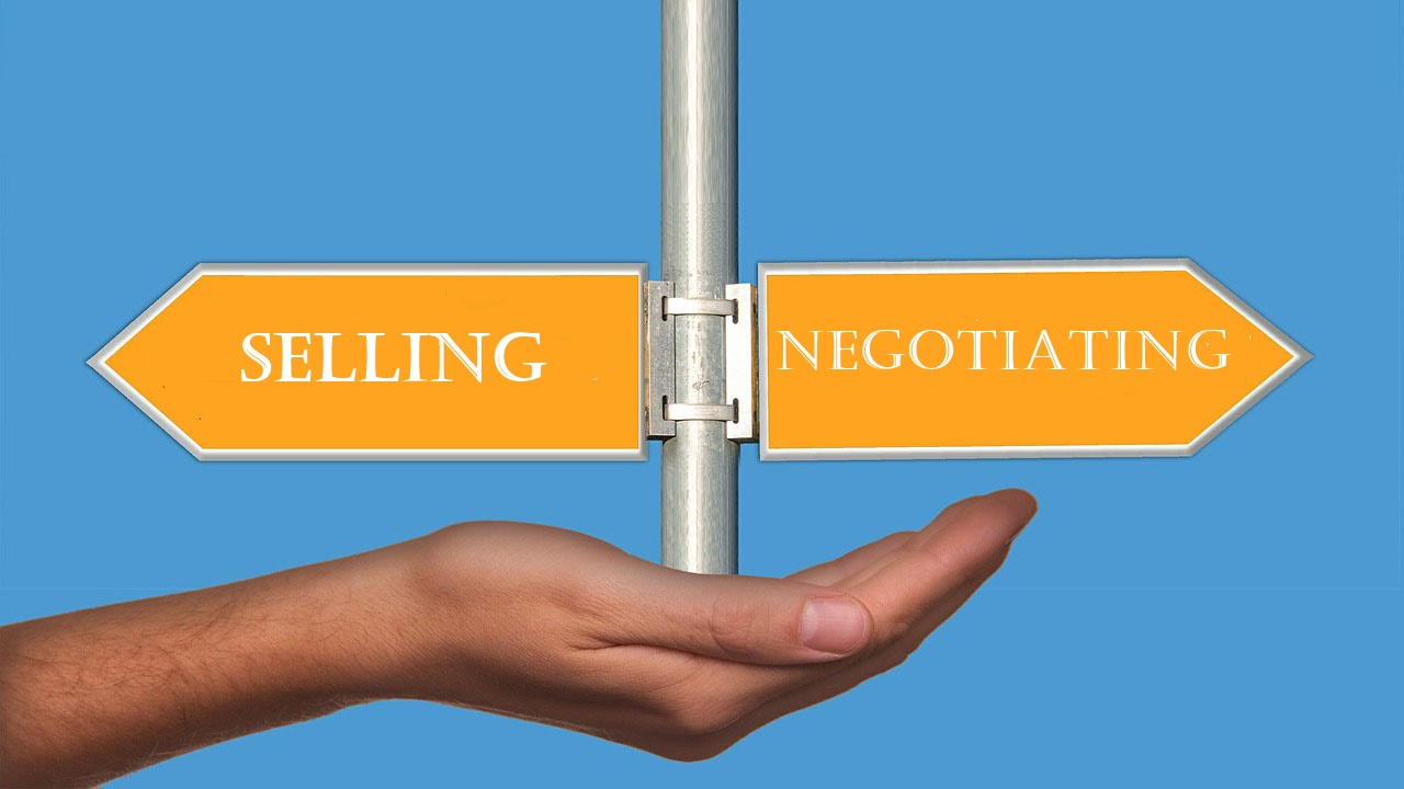 When Should You Negotiate And When Should You Sell?