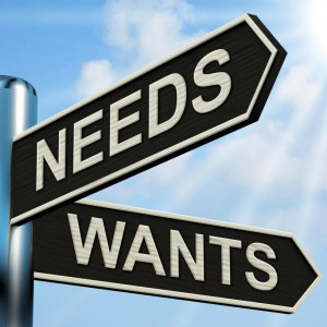 needs-wants-signpost-means-necessity-and-desire